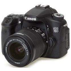 Canon EOS 70D 18~55mm IS STM