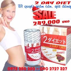 Viên uống giảm cân 2 DAY DIET an toàn hiệu quả