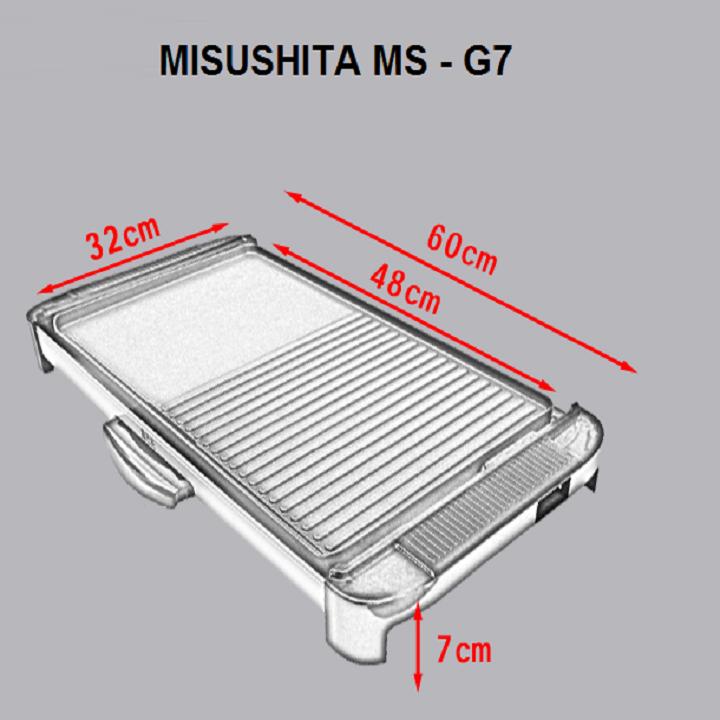 Vỉ Nướng Điện Misushita G7 7
