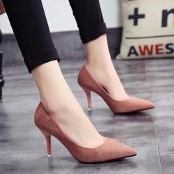 Giày cao gót cổ điển màu mới