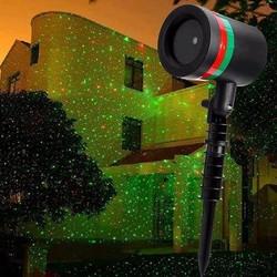 Đèn Laser trang trí giáng sinh và tết năm 2017