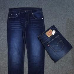 Quần jeans nam hàng hiệu ống suông
