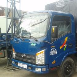 Bán xe tải veam vt252 tải trọng 2t4 vào thành phố