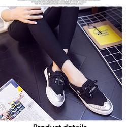 Giày nữ style hàn siêu cá tính giá rẻ