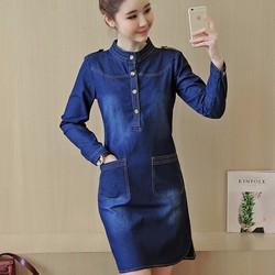 Đầm Jean Suông Cao Cấp - Đủ size