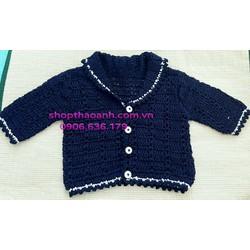 Áo khoác len móc Handmade size 1 tuổi - 2 tuổi