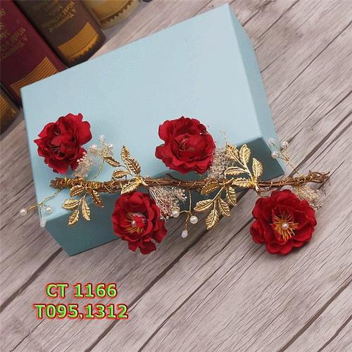 Cài tóc cô dâu hoa hồng đỏ - 4120776 , 4616810 , 15_4616810 , 95000 , Cai-toc-co-dau-hoa-hong-do-15_4616810 , sendo.vn , Cài tóc cô dâu hoa hồng đỏ