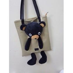 Túi xách gấu bông hàng qc - G02282