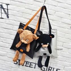 Túi xách hình gấu