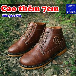 GIÀY TĂNG CHIỀU CAO NAM 7CM NEW FASHION TINTO 5601NA