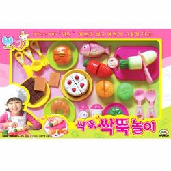Bộ thái rau quả bánh Mimi World Hàn Quốc