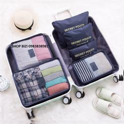Bộ 6 túi đựng đồ du lịch