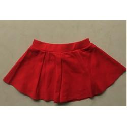 Chân váy xoè Hàn Quốc-đỏ