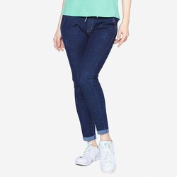 Quần jean dài nữ cạp chun lưng thun ống côn ZENKO QUAN JEAN NU 001 N