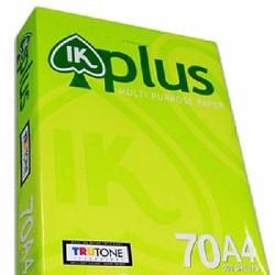 Giấy A4 IK Plus 70 gsm  1 thùng 5ram