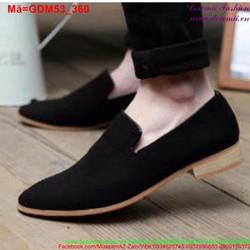 Giày mọi da nam thiết kế đơn giản mà sang trọng GDM53