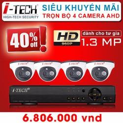 Trọn Bộ 4 Camera Quan Sát IT-DM1