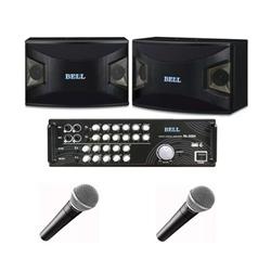 Dàn karaoke BELL 910 + amply 300-A + micro có dây