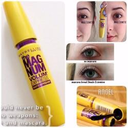 Mascara giúp Dày mi 9 lần