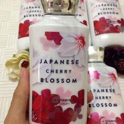 Bath  Body Works Japanese Cherry Blossom Shea Butter