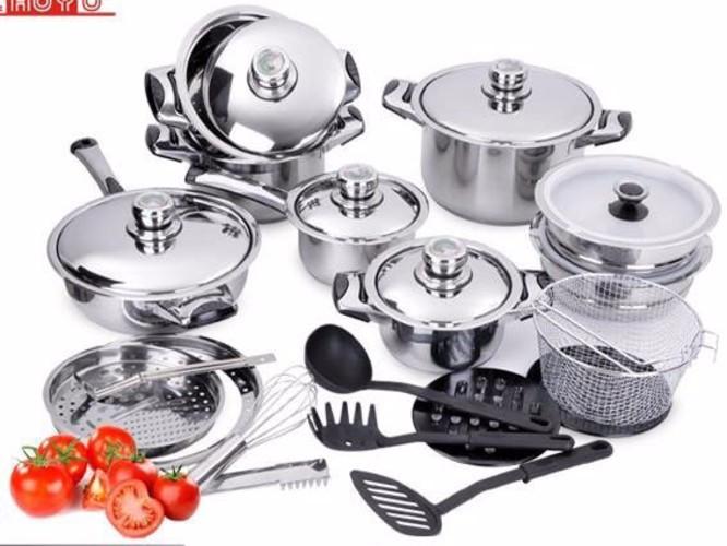 Bộ nồi 27 món Cookware KL7208 1