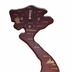 Đồng hồ treo tường gỗ Acura Hình Việt Nam
