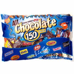 Chocolate hỗn hợp 150 viên Kirkland 2.55kg Mỹ