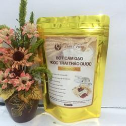 Bột cám gạo ngọc trai thảo dược cao cấp Okiiu