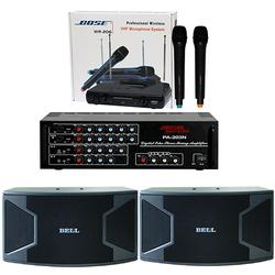Dàn karaoke 352 + amply 203N 12 sò + 1 cặp micro không dây