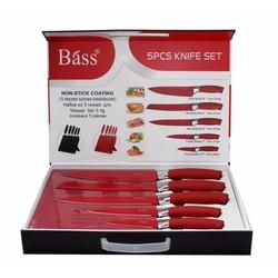 Bộ dao Bass 5 món có đế hít nam châm
