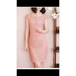 Đầm Ren Hoa nổi thời trang