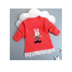 áo len bé gái 2-6 tuổi
