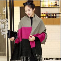 Khăn choàng nữ my love mùa đông trực tiếp Hàn Quốc thiết kế mới