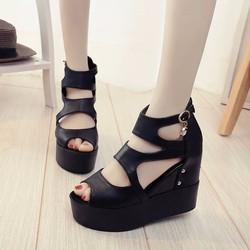 Giày Sandal Đế Bánh Mì