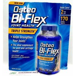Osteo Bi-Flex Triple Strength 170 Viên Của Mỹ. Điều trị sụn khớp
