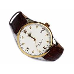 Hàng xách tay - Đồng hồ kim cao cấp dây da tuyệt đẹp