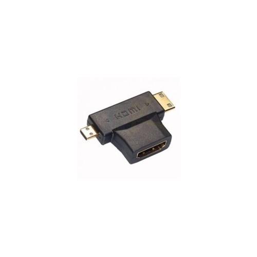 Đầu chuyển HDMI sang Micro HDMI và Mini HDMI - 4121798 , 4627615 , 15_4627615 , 55000 , Dau-chuyen-HDMI-sang-Micro-HDMI-va-Mini-HDMI-15_4627615 , sendo.vn , Đầu chuyển HDMI sang Micro HDMI và Mini HDMI