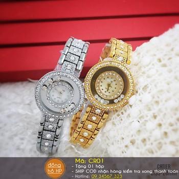 Đồng hồ nữ thời trang đính hạt