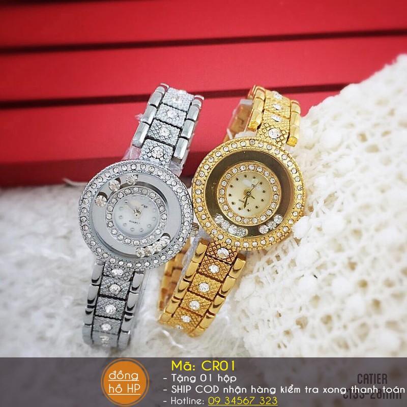 Đồng hồ nữ thời trang đính hạt 8