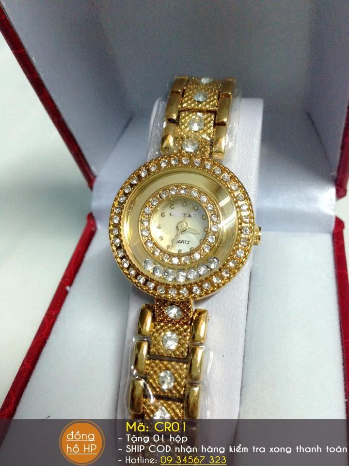 Đồng hồ nữ thời trang đính hạt 9