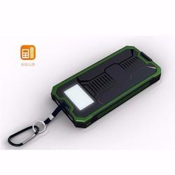 Pin sạc dự phòng 20000mah năng lượng mặt trời có đèn pin