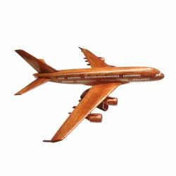 Mô hình máy bay gỗ Airbus A380 - Size Nhỏ