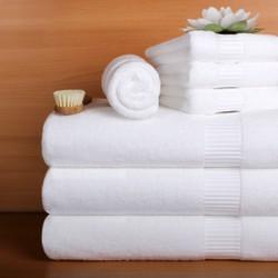 Khăn tắm trắng Khách Sạn 70x140cm