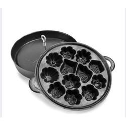 Khuôn làm bánh bông lan chống dính cao cấp - khuôn 12 bánh