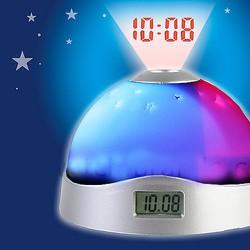 42k - Đồng hồ để bàn kiêm đèn ngủ chiếu sao và giờ lên trần nhà   giá sỉ và lẻ rẻ nhất