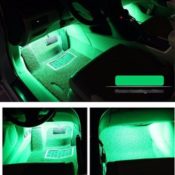 Đèn trang trí sàn xe - Chuyển đồng theo tiếng nhạc