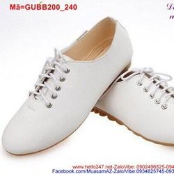 Giày oxford nữ thắt dây trẻ trung năng động GUBB200