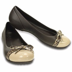 Crocs Women's Cap Toe Bow Flat