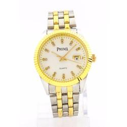 Đồng hồ nam dây thép chống gỉ PREMA PR2202