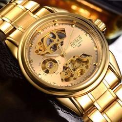 Đồng hồ cơ máy Automatic Bosck gold